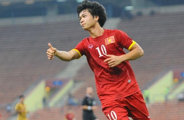 Cong Phuong trong  top 10 cau thu dang xem nhat SEA Games 28 hinh anh