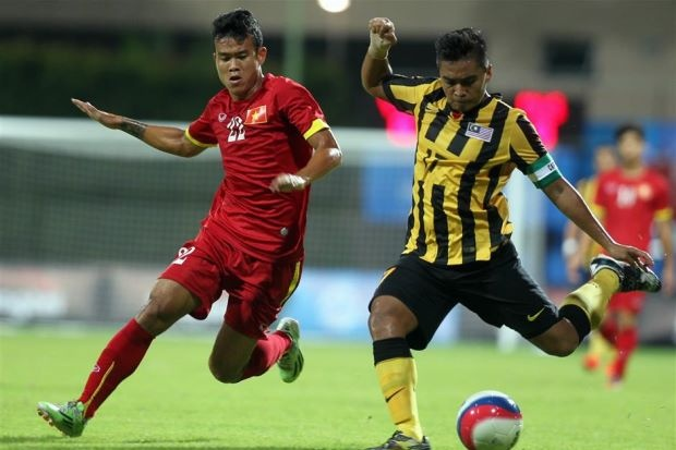U23 Malaysia mo tai lap ky tich nhu SEA Games 2009 hinh anh