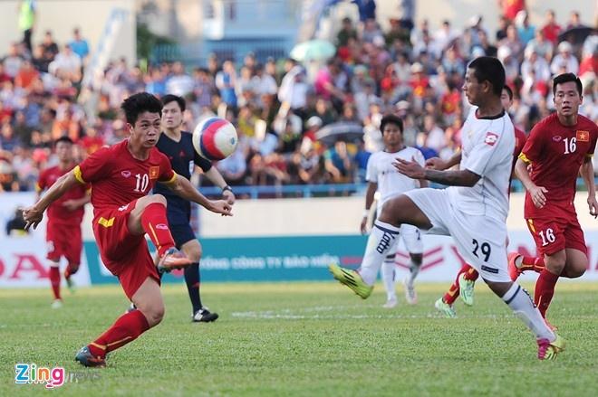 U23 Viet Nam gap lai U23 Myanmar o ban ket hinh anh 1