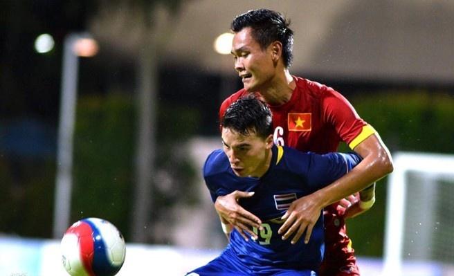 U23 Viet Nam thua toan dien truoc Thai Lan hinh anh