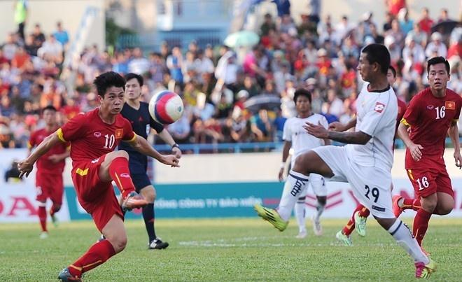U23 Viet Nam gap lai U23 Myanmar o ban ket hinh anh