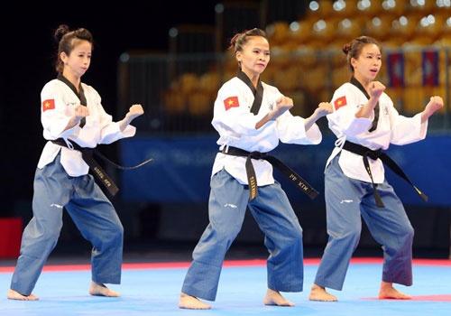 Taekwondo Viet Nam doat HCV nho khieu nai thanh cong hinh anh