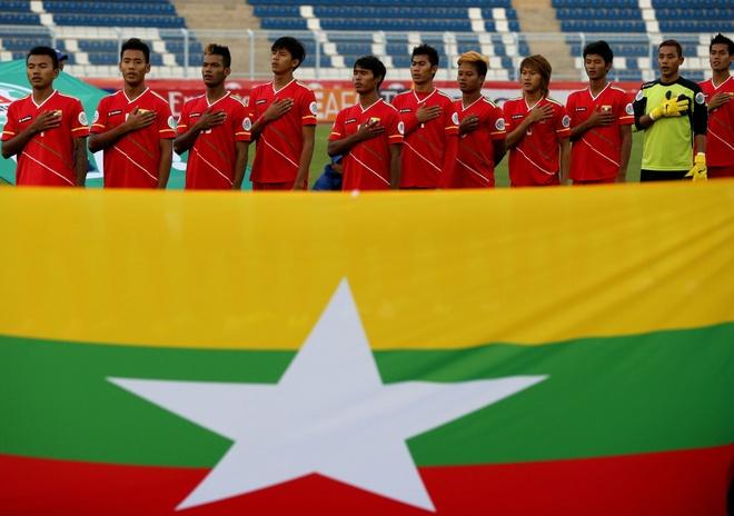 U23 Myanmar so mac sai lam truoc U23 Viet Nam hinh anh