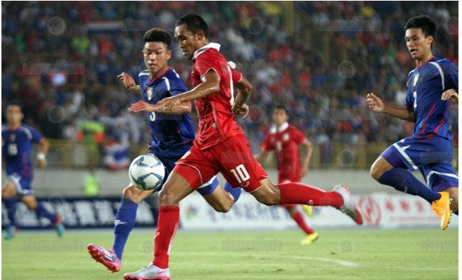 Dangda giup Thai Lan thang tien o vong loai World Cup hinh anh 1