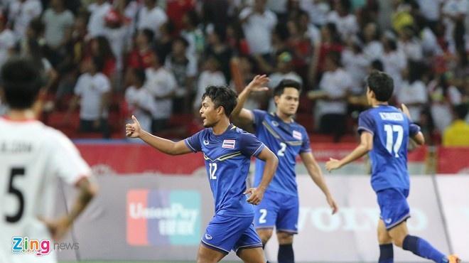 U23 Thai Lan dat muc tieu gianh ve du Olympic 2016 hinh anh 1