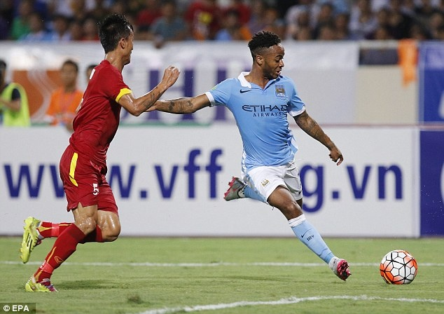 Raheem Sterling an tuong voi co dong vien Viet Nam hinh anh