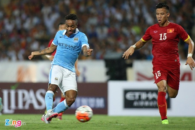 Raheem Sterling an tuong voi co dong vien Viet Nam hinh anh 1