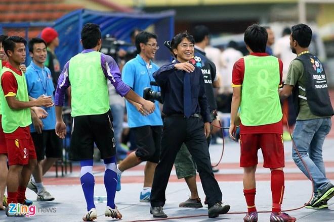 Dau an nhat nhoa trong 16 thang dan dat DTVN cua Miura hinh anh 1 Thành tích của HLV Miura ở đội U23 và ĐTQG đều tốt hơn so với hai người tiền nhiệm là Phan Thanh Hùng và Hoàng Văn Phúc.