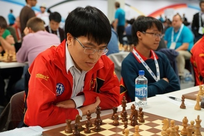 Quang Liem, Truong Son vao vong 2 World Cup co vua hinh anh