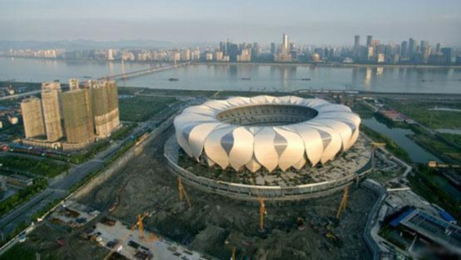 Hang Chau dang cai Asian Games 2022 hinh anh