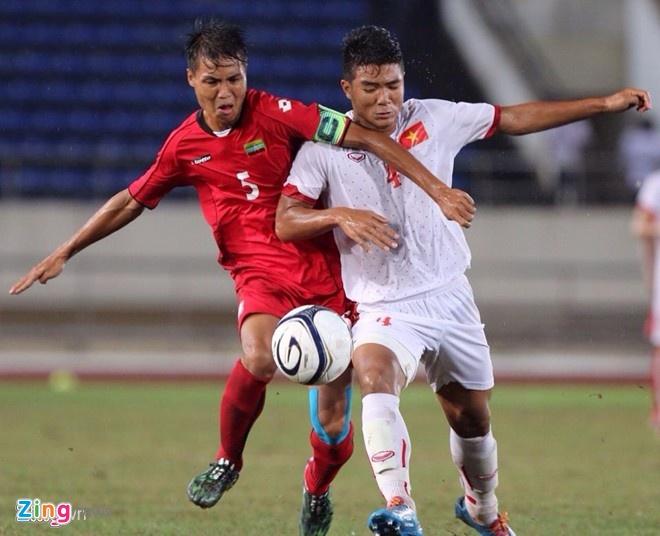 Thang kich tinh, Myanmar cung U19 Viet Nam tranh ngoi dau hinh anh 1 U19 Việt Nam được đánh giá cao hơn U19 Myanmar về nhiều mặt. Ảnh: Tùng Lê.