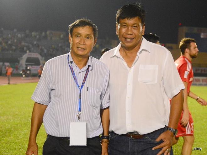 GDKT Mai Duc Chung chia tay B.Binh Duong hinh anh