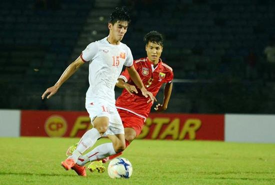 Co hoi va thach thuc cho U19 Viet Nam tai giai chau A hinh anh 1 U19 Việt Nam (áo trắng) có 4 trận toàn thắng tại vòng loại U19 châu Á thuyết phục. Ảnh: VFF.