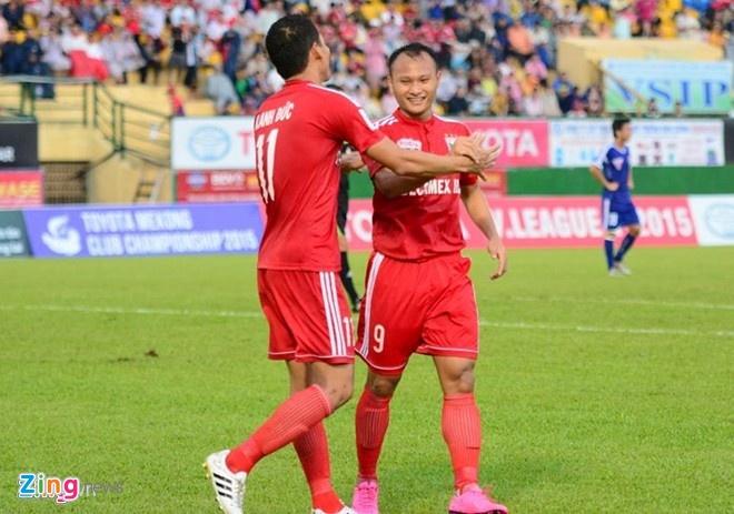 B.Binh Duong ren quan tai giai BTV Cup hinh anh 1 Anh Đức, Trọng Hoàng sẽ tham dự BTV Cup 2015.