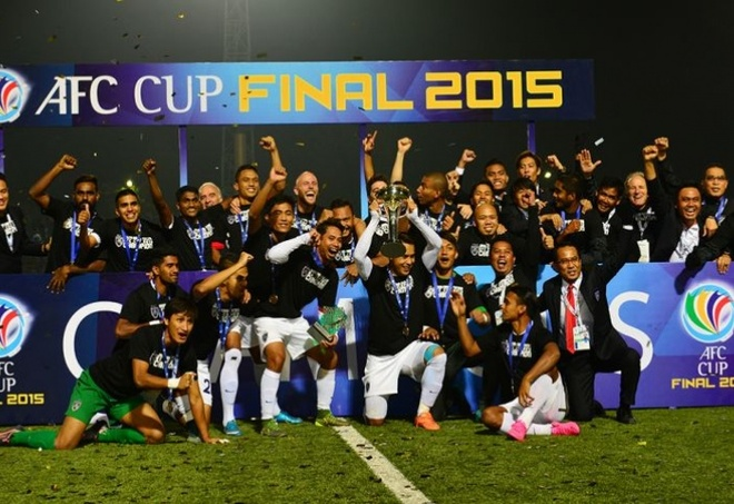 Doi bong Malaysia vo dich AFC Cup hinh anh