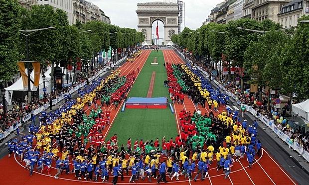 Paris van muon dang cai Olympic 2024 hinh anh 1