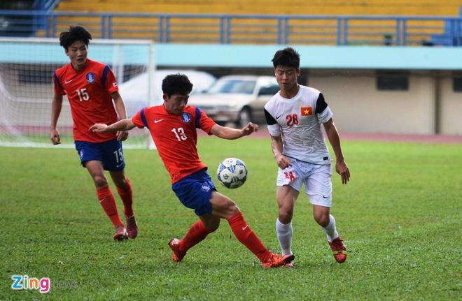 U21 HAGL - U19 Han Quoc: Chung ket som giai U21 quoc te hinh anh 2