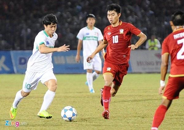 U21 HAGL - U19 Han Quoc: Chung ket som giai U21 quoc te hinh anh 1 Đây là giải đấu cuối cùng của Công Phượng trước khi sang Nhật Bản thi đấu. Anh hứa sẽ thi đấu hết mình.