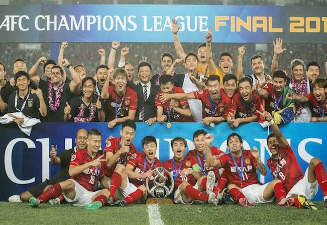 Doi bong Trung Quoc vo dich AFC Champions League hinh anh 1