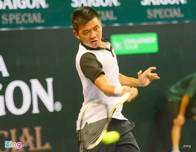 Ly Hoang Nam chia tay som giai Futures Campuchia hinh anh 1