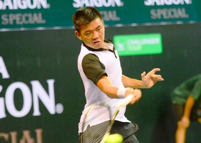 Ly Hoang Nam chia tay som giai Futures Campuchia hinh anh