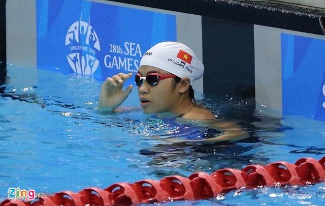 Phuong Tram muon doat huy chuong o SEA Games 2017 hinh anh 2 Phương Trâm có bước tiến bộ vượt bậc sau SEA Games 28.