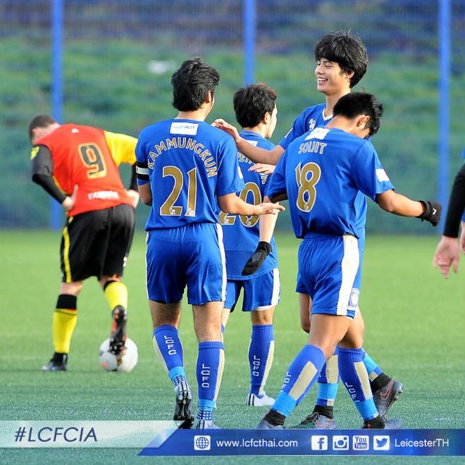Thai Lan om mong World Cup tu 16 cau thu an tap o Anh hinh anh 2 Những tài năng trẻ của Thái Lan hứa hẹn phát triển tốt nhờ Leicester City.