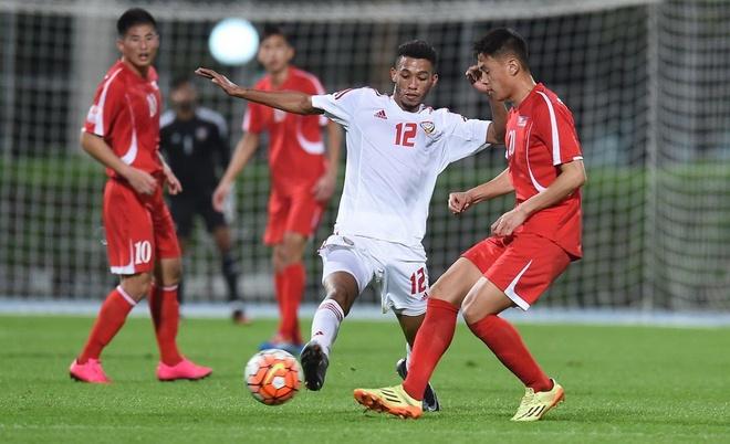 Doi thu U23 Viet Nam thang dam truoc giai chau A hinh anh