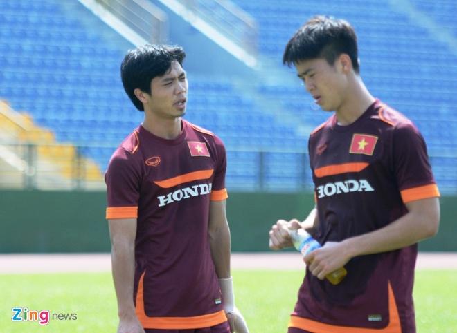 HLV Miura cho U23 Viet Nam tap chay giua trua nong hinh anh 4