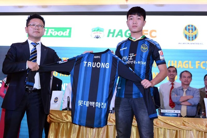 Bau Duc hy vong Xuan Truong thanh sao tai CLB Incheon United hinh anh
