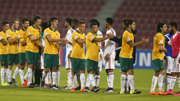 U23 Australia thua U23 UAE 0-1 hinh anh