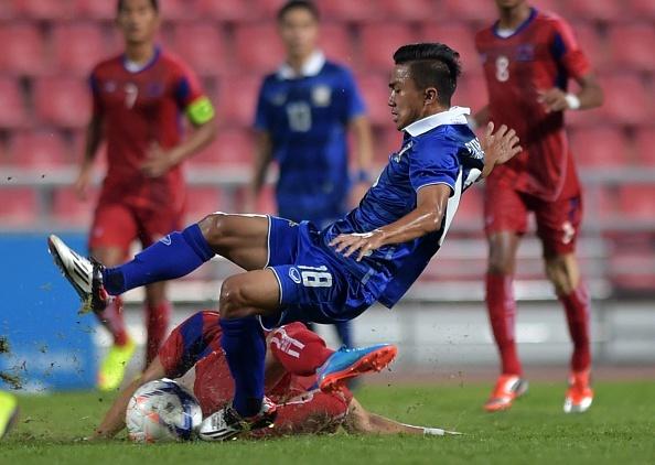 U23 Thai Lan chia tay giai chau A sau tran hoa kich tinh hinh anh