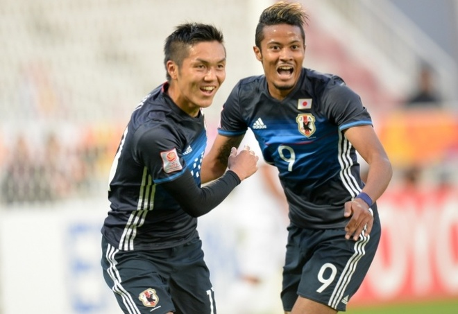 U23 Nhat Ban gap Han Quoc o chung ket U23 chau A hinh anh