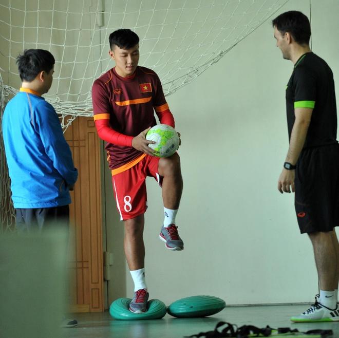Tuyen futsal Viet Nam ran banh chung an tet tai Uzbekistan hinh anh 6