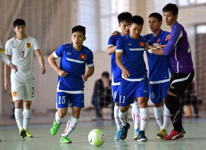 Tuyen futsal Viet Nam thang Trung Quoc 4-1 hinh anh 6
