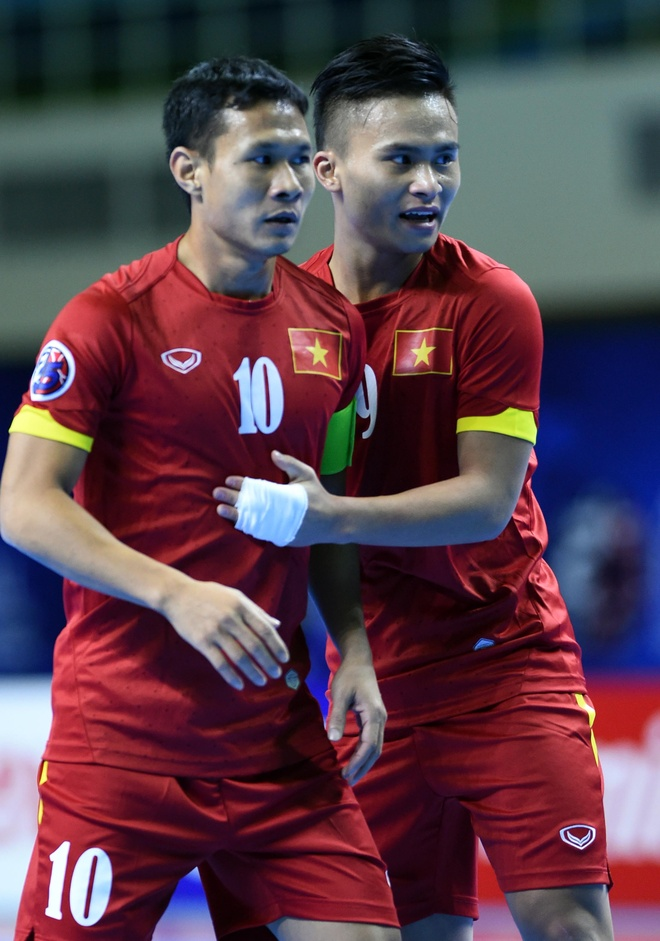 Futsal Viet Nam mo man thanh cong chien dich du World Cup hinh anh 8