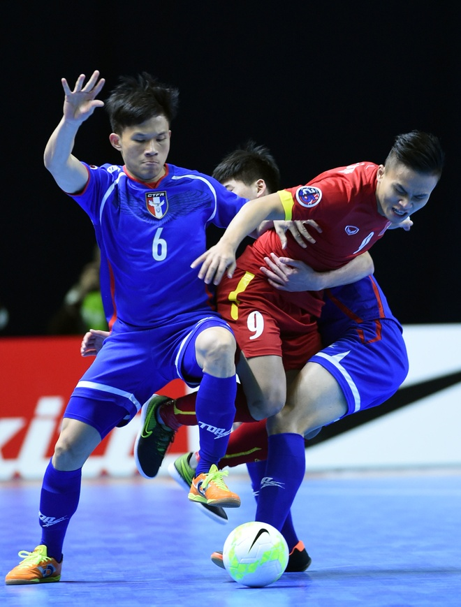 Futsal Viet Nam mo man thanh cong chien dich du World Cup hinh anh 3