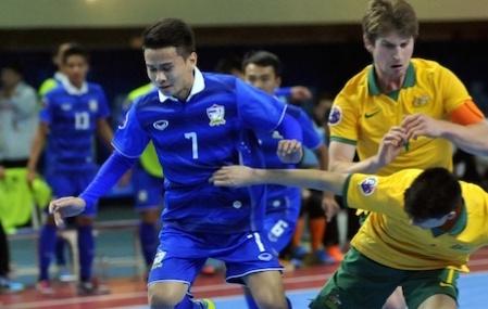 Futsal Thai Lan gianh ve du World Cup hinh anh