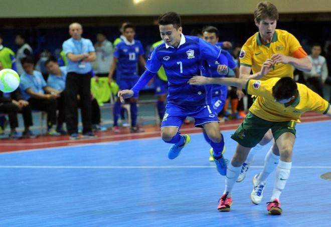 Futsal Thai Lan gianh ve du World Cup hinh anh 1