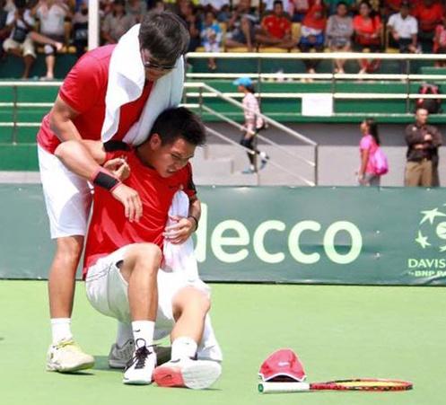 Tuyen tennis Indonesia than phuc y chi cua Hoang Thien hinh anh 1