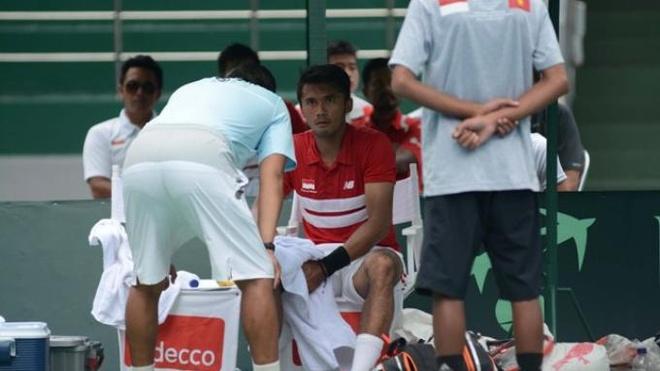 Tuyen tennis Indonesia than phuc y chi cua Hoang Thien hinh anh 2