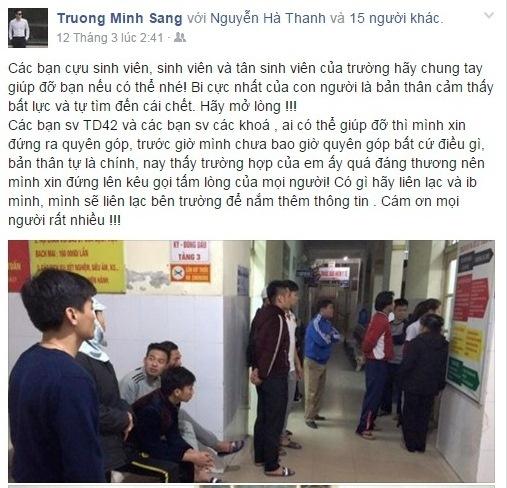 Cuu sinh vien dai hoc the thao Bac Ninh tu tu hinh anh 1