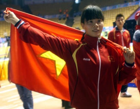 The thao Viet Nam co ve thu 9 du Olympic hinh anh