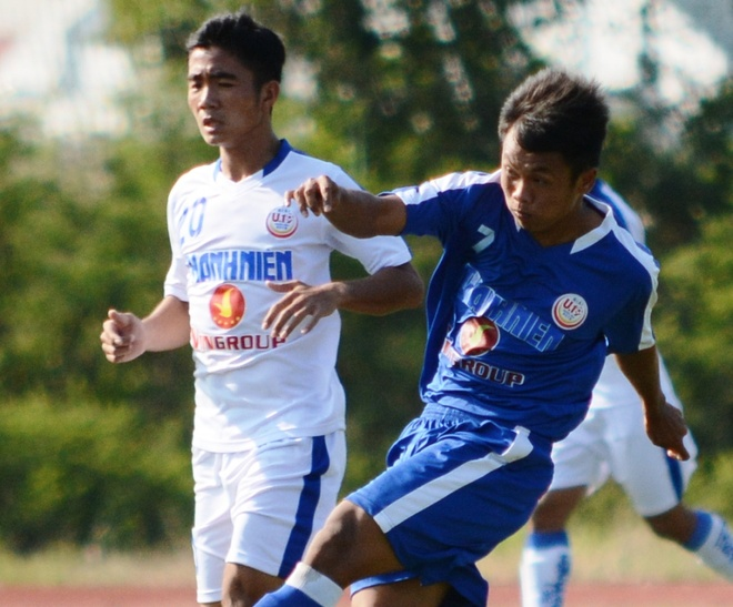 Tuyen thu U23 Viet Nam lap cu poker o giai U19 hinh anh