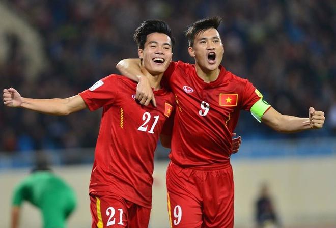 Cong Vinh, Van Toan giup DTVN thang dam Dai Loan hinh anh