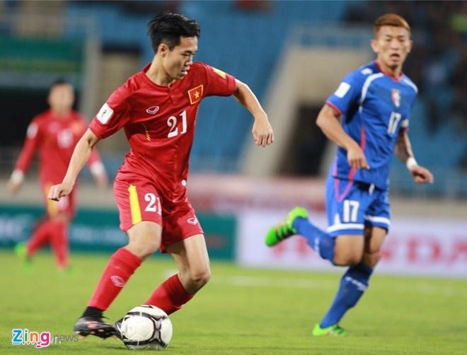 Cong Vinh, Van Toan giup DTVN thang dam Dai Loan hinh anh 1