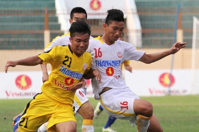 Doi bong tre cua bau Hien vao chung ket giai U19 quoc gia hinh anh