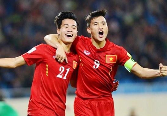Tuyen Viet Nam tang 2 bac tren bang xep hang FIFA hinh anh