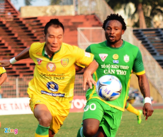 Can Tho thang dam Dong Thap tai V.League anh 5