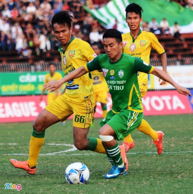 Can Tho thang dam Dong Thap tai V.League anh 2